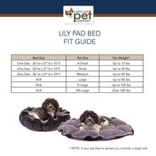 Load image into Gallery viewer, Versatile Dog/Cat Bed Lilly Pad Bed Cedar Hill Country Market