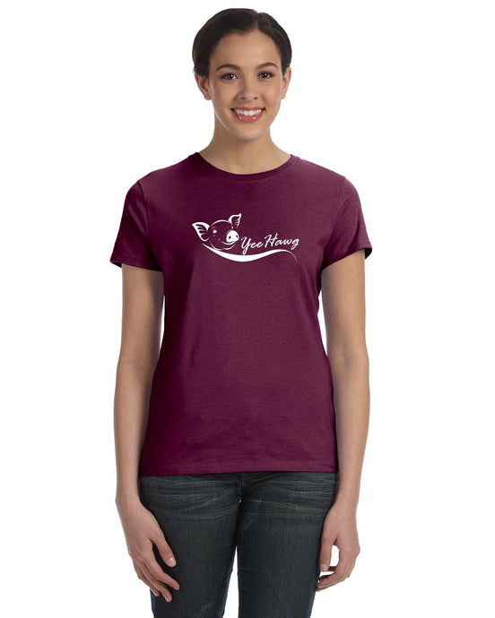 YeeHawg Fun Arkansas Hog Inspired T-shirt Cedar Hill Country Market