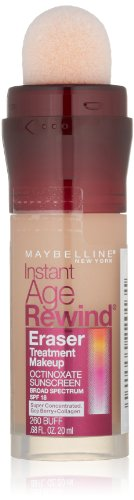 Maybelline New York Instant Age Rewind Eraser Treatment Makeup, Buff 260, 0.68 Fluid Ounce