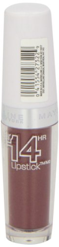 Maybelline New York Superstay 14 hour Lipstick, Ceaseless Caramel, 0.12 Ounce