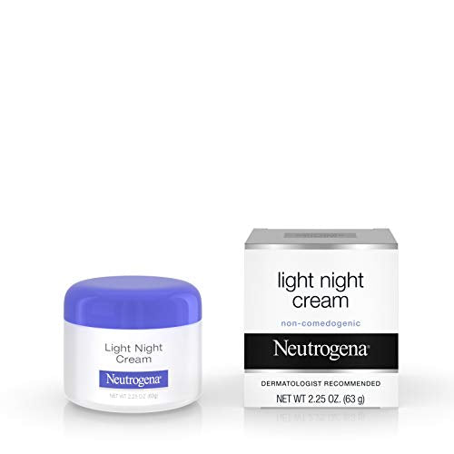Neutrogena Light Facial Night Cream, 2.25 Oz.