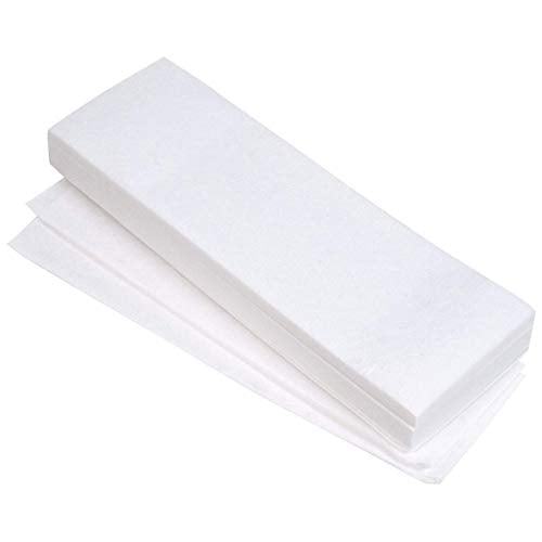 "Non-woven Hair Removal Waxing Strips, 100 Pack (3""x9"")"