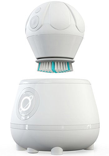 Tao Clean Orbital Facial Brush And Cleansing Station â?? Super Nova White â?? Electric Face Cleansin