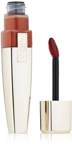 L'Oreal Paris Colour Caresse Wet Shine Lip Stain, Everlasting Caramel, 0.21 Ounces
