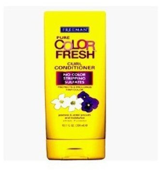 Freeman Pure Color Fresh Curl Conditioner 10.1 Fl. Oz. - 2 Pack Deal
