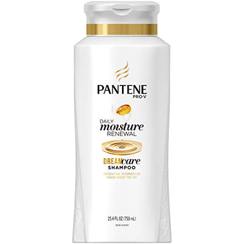 Pantene Shampoo Daily Moisture Renewal 25.4 Ounce (751ml) (6 Pack)