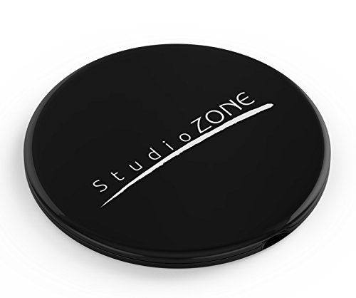 BEST COMPACT MIRROR - 10X MAGNIFYING MakeUp Mirror - Perfect for Purses - Travel - 2-sided with 10X Magnifying Mirror and 1x Mirror - ClassZ Compact Mirror By StudioZONE