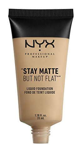 Nyx Professional Makeup Stay Matte But Not Flat Liquid Foundation, Nude, 1.18 Ounce