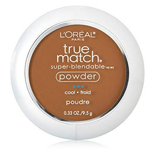 L'Oreal True Match Powder, Nut Brown [C7], 0.33 oz (Pack of 2)