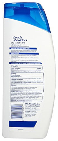 Head & Shoulders Dry Scalp Care Dandruff Shampoo - 23.7 oz - 2 pk