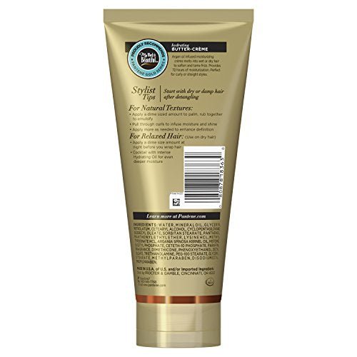 Gold Series, Butter Crã¨Me Hair Treatment, With Argan Oil, Sulfate Free, With Argan Oil, Intense Hyd
