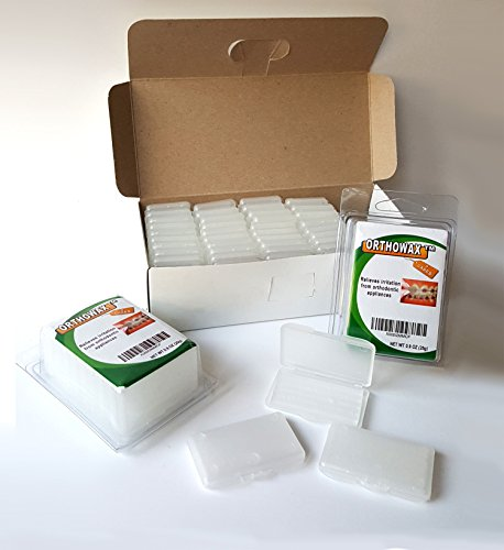 Genuine Orthowax   Our Best Seller Orthodontic Wax For Braces Wearer   Stick Better Than Competitors