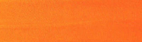 Kenz Laurenz Soft and Stretchy Elastic Cotton Headbands, (Pack of 12) - Orange