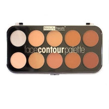 BEAUTY TREATS Face Contour Palette - 10 Shades