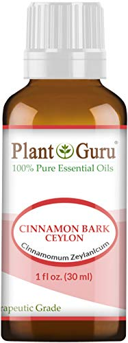 Cinnamon Bark Ceylon Essential Oil - Cinnamomum Zeylanicum - 1 oz / 30 ml 100% Pure Undiluted Therapeutic Grade.