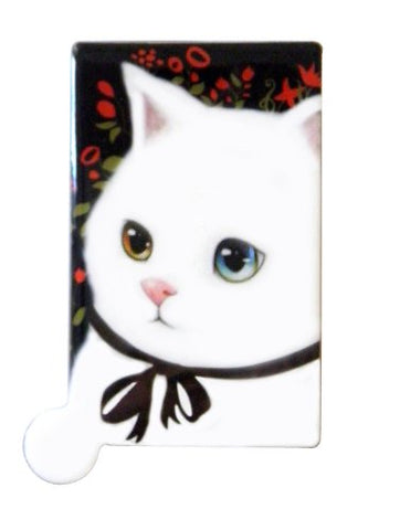 Adorable Kitty Cat Compact Travel Mirror