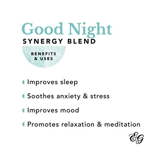 Edens Garden Good Night Essential Oil Synergy Blend, 100% Pure Therapeutic Grade (Highest Quality Aromatherapy Oils- Anxiety & Sleep), 118 ml