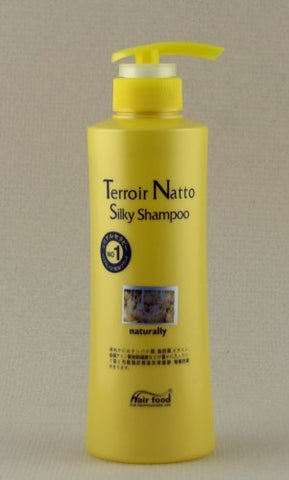 Terroir Natto Silky Shampoo naturally (500g) by Hair Food