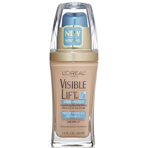 L'oreal Paris Visible Lift Serum Absolute Foundation, Soft Ivory, 1 Ounce