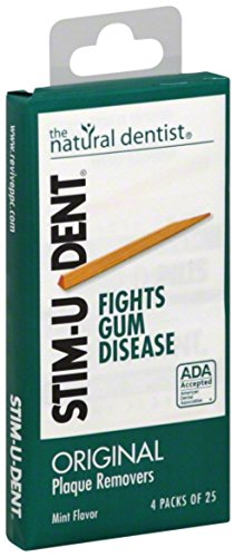 Stim-U-Dent Plaque Removers Mint 100 Each (Pack of 9)