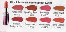 Avon Lipstick Ultra Color Rich Brilliance, Sienna Sparkle