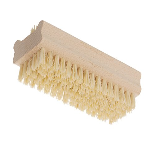 Redecker Tampico Fiber and Beechwood Nailbrush, 3-5/8 inches