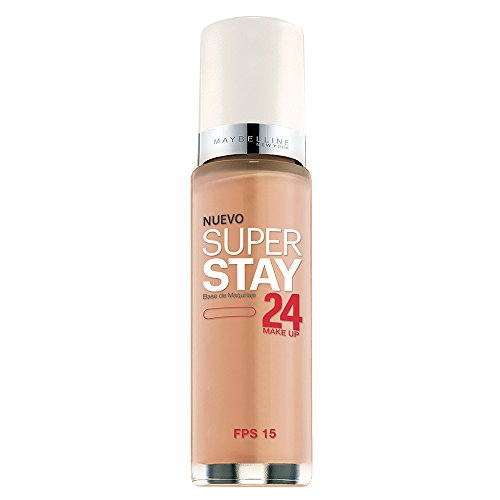 Maybelline New York Super Stay 24Hr Makeup, Nude, 1 Fluid Ounce