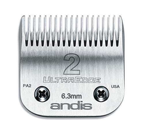 Andis 64078 Ultra Edge Carbon Infused Steel Clipper Blade, Size 2, 1/4 Inch Cut Length