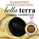 Image of Bella Terra Mineral Powder Foundation | Long Lasting All Day Wear | Buildable Sheer To Full Coverage