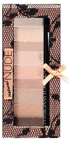Physicians Formula Shimmer Strips Custom Eye Enhancing Shadow and Liner, Natural Nude Eyes, 0.26 oz.
