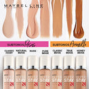 Image of Maybelline New York Super Stay 24Hr Makeup, Nude, 1 Fluid Ounce