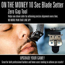 Image of The Rich Barber On The Money 10 Second Blade Setter | Zero Gap Tool For Sharper Lines, Cleaner Fades