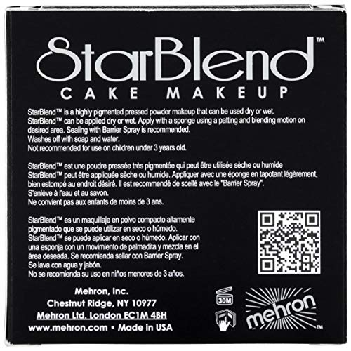 Mehron Makeup Star Blend Cake (2 Oz) (Extra Fair)