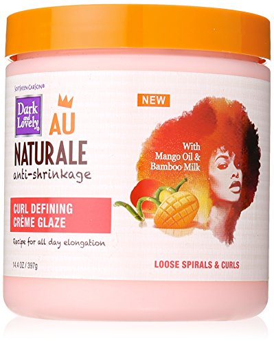 Curly Hair Products By Soft Sheen Carson Dark And Lovely Au Naturale Curl Defining Crã¨Me Glaze, With