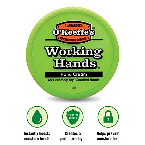 O'keeffe's Working Hands Hand Cream, 3.4 Oz., Jar, (Pack Of 4)