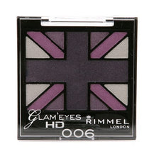 Rimmel Glam' Eyes HD Quad Eye Shadow Palette, Purple Reign 0.14 oz (4.2 g)