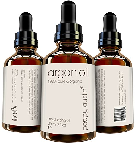 Pure Argan Oil For Hair & Skin   Vegan Certified, Cruelty Free, Organic & Eco Friendly   Hand Made,