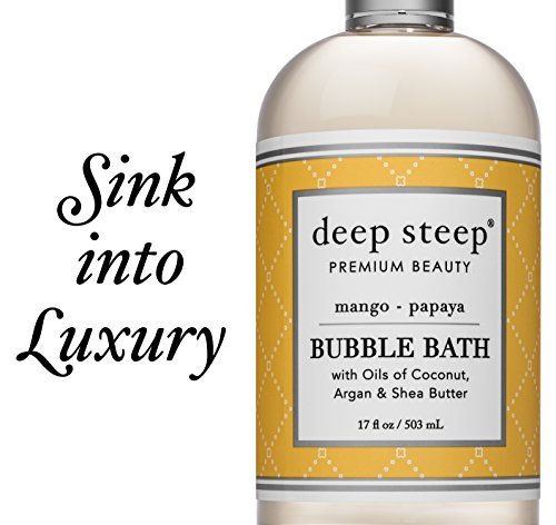 Deep Steep Classic Bubble Bath, Coconut Lime, 17 Fluid Ounce