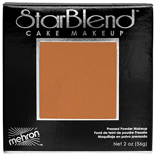 Mehron Makeup Star Blend Cake (2 Ounce) (Light Cocoa)