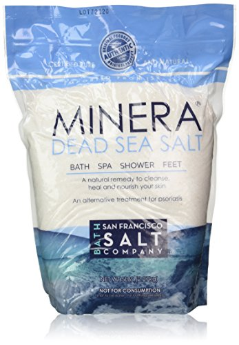 Minera Natural Dead Sea Salt   5 Lbs. Bulk   Fine Grain