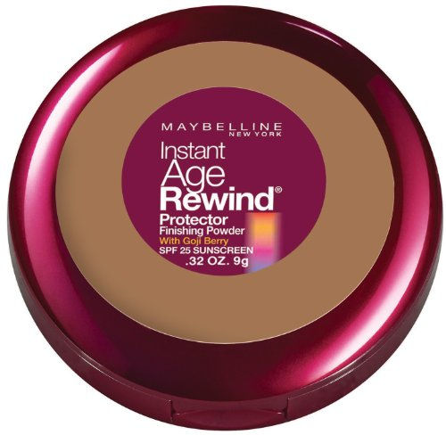 Maybelline New York Instant Age Rewind Protector Finishing Powder, Honey, 0.32 Ounce
