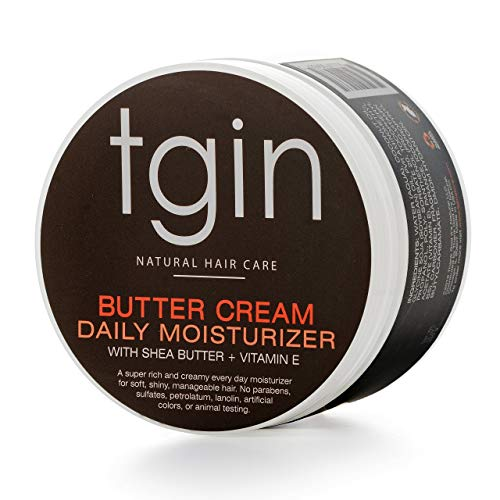 Tgin Butter Cream Daily Moisturizer For Natural Hair   Dry Hair   Curly Hair   12 Oz