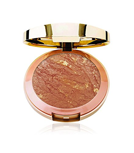 Milani Baked Bronzer   Soleil, Cruelty Free Shimmer Bronzing Powder To Use For Contour Makeup, Highl