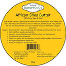 Image of 100% Organic West African Shea Butter 16 oz