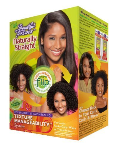 Beautiful Textures Naturally Straight Texturizer Kit, 25.6 Oz