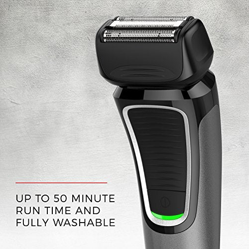 Remington PF7400 F4 Comfort Series Foil Shaver, Men's Electric Razor, Electric Shaver, Black