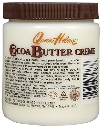 Queen Helene Natural Cocoa Creme   15 Fl Oz