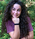Image of Burlybands Large Hair Ties For Thick Heavy Or Curly Hair. No Slip No Damage Seamless Ponytail Holder