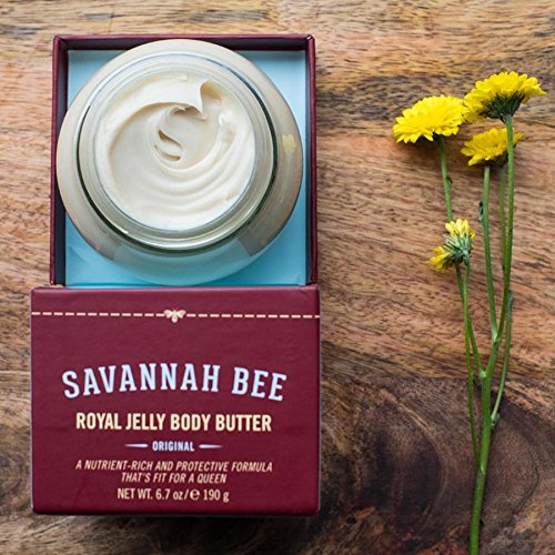 Royal Jelly Body Butter ORIGINAL Formula by Savannah Bee Company - 1.65 Ounce