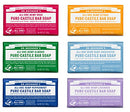 Image of Dr. Bronner's Pure-Castile Bar Soap Variety Gift Pack- 5oz, 6 Pack